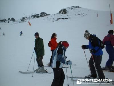 Esquí Baqueira - nieve; senderismo montaña; trekking viajes